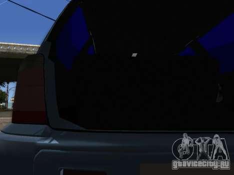 Subaru Forester 1998 для GTA San Andreas вид сбоку