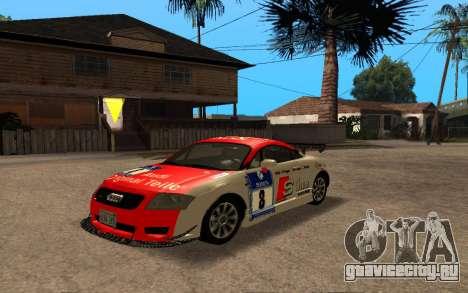 Audi TT 2004 Tunable для GTA San Andreas вид сзади