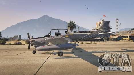 Embraer A-29B Super Tucano House для GTA 5 третий скриншот