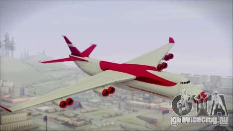 GTA 5 Cargo Plane для GTA San Andreas