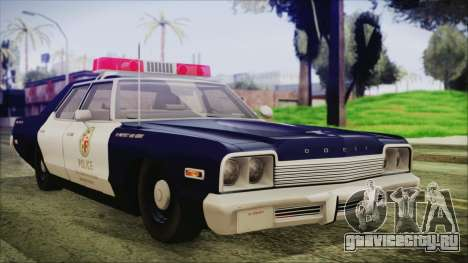 Dodge Monaco 1974 LSPD General Duties Unit для GTA San Andreas