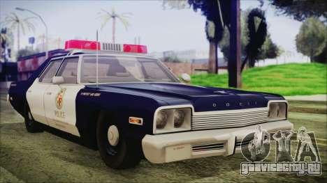 Dodge Monaco 1974 LSPD General Duties Unit для GTA San Andreas