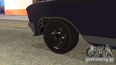 GTA 5 Albany Lurcher Cabrio Style для GTA San Andreas вид сзади слева