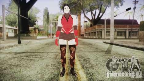 Tekken Tag Tournament 2 Zafina Dress v2 для GTA San Andreas второй скриншот