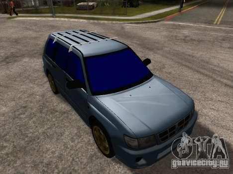Subaru Forester 1998 для GTA San Andreas салон