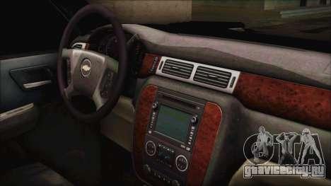 Chevrolet Silverado Triple Door для GTA San Andreas вид справа