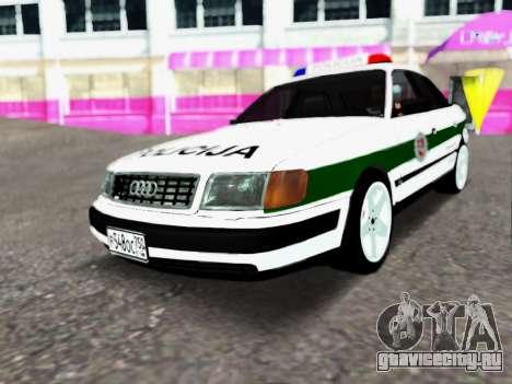 Audi 100 C4 1995 Police для GTA San Andreas