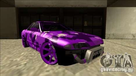 Nissan Skyline R32 Drift для GTA San Andreas вид сверху