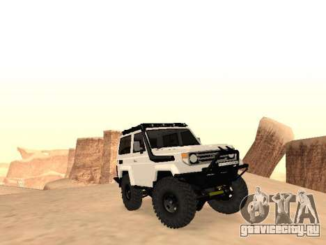 Toyota Machito Off-Road (IVF) 2009 для GTA San Andreas