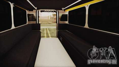 Markshop Jeepney для GTA San Andreas вид сзади