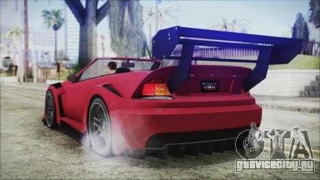Benefactor Feltzer Super Sport для GTA San Andreas вид слева