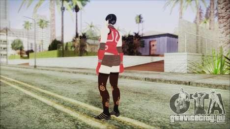 Tekken Tag Tournament 2 Zafina Dress v2 для GTA San Andreas третий скриншот