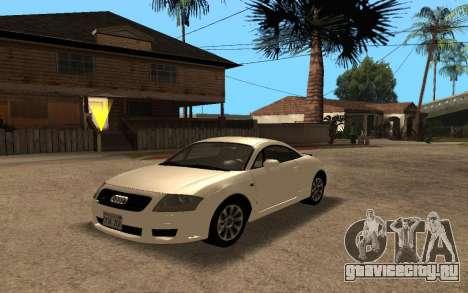 Audi TT 2004 Tunable для GTA San Andreas
