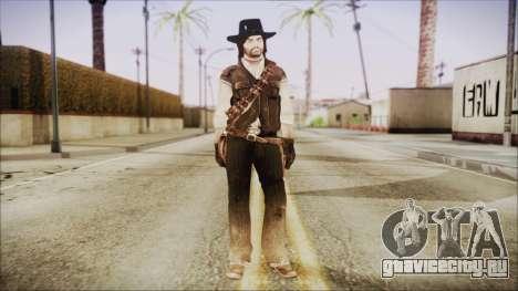John Marston from Red Dead Redemtion для GTA San Andreas второй скриншот