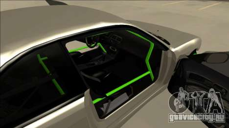 Nissan Silvia S14 Drift Monster Energy для GTA San Andreas вид сзади