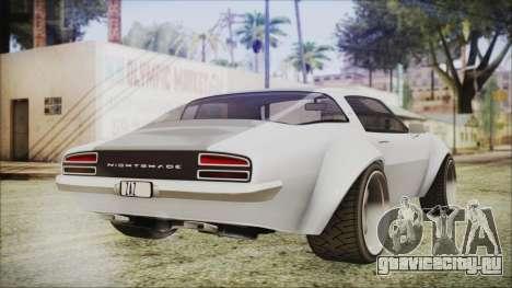 Imponte Nightshade для GTA San Andreas вид слева