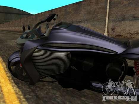 Krol Taurus concept HD ADOM v2.0 для GTA San Andreas вид изнутри
