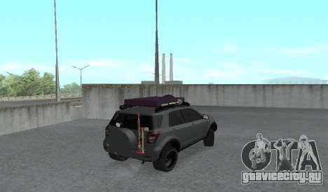 Toyota Terios 2009 OFF-ROAD MUD-TERRAIN для GTA San Andreas вид сзади слева