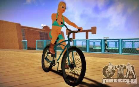 GTA V Cruiser Bike для GTA San Andreas вид сзади слева