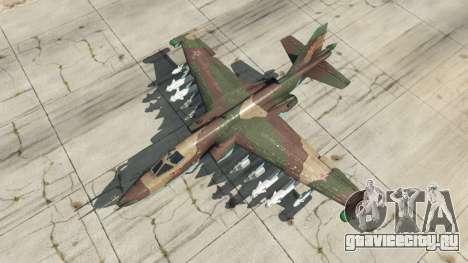 Су-25 v1.1 для GTA 5 четвертый скриншот