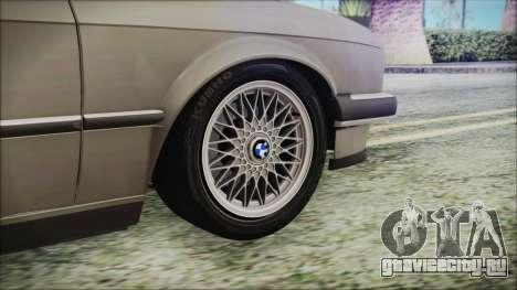 BMW 320i E21 1985 LT Plate для GTA San Andreas вид сзади слева