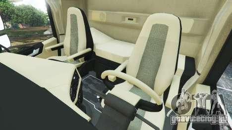 Volvo FH 750 2014 для GTA 5 вид справа