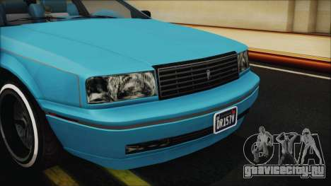 GTA 5 Albany Primo Custom Bobble Version IVF для GTA San Andreas вид изнутри