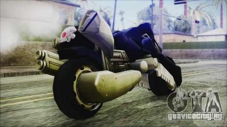 FF7AC Bike для GTA San Andreas вид справа