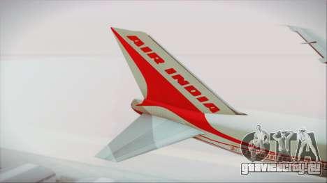 Boeing 747-237Bs Air India Chandragupta для GTA San Andreas вид сзади слева