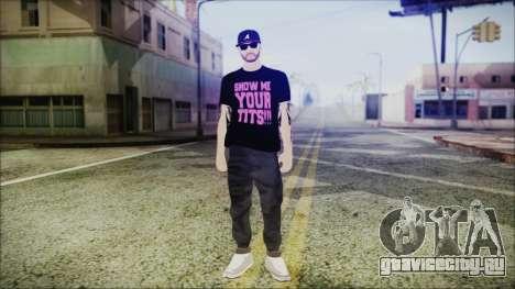 GTA Online Skin 48 для GTA San Andreas второй скриншот