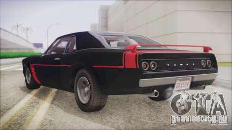 GTA 5 Declasse Tampa IVF для GTA San Andreas вид слева