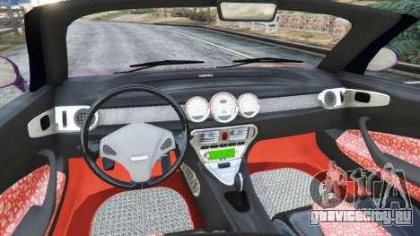 Daewoo Joyster Concept 1997 v1.3 для GTA 5 вид сзади справа