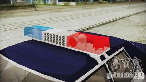 Dodge Monaco 1974 LSPD Highway Patrol Version для GTA San Andreas вид справа