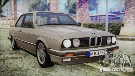 BMW 320i E21 1985 LT Plate для GTA San Andreas