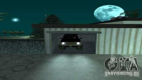FBIranch By MarKruT для GTA San Andreas вид сзади