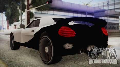 BETA Yakuza Shark для GTA San Andreas вид сзади слева