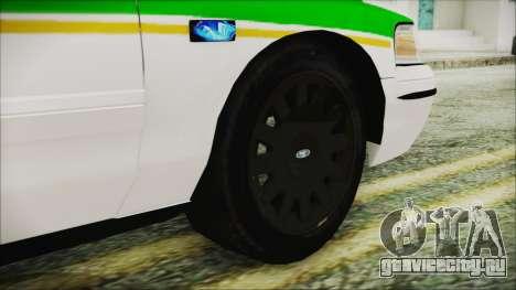 Ford Crown Victoria Miami Dade v2.0 для GTA San Andreas вид сзади слева