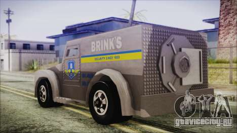 Hot Wheels Funny Money Truck для GTA San Andreas вид слева