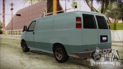 GTA 5 Bravado Rumpo для GTA San Andreas вид слева