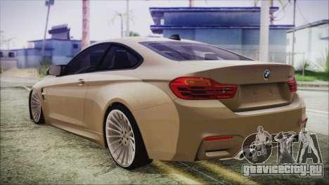 BMW M4 Coupe для GTA San Andreas вид слева