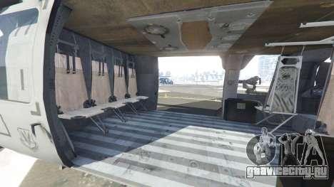 Sikorsky HH-60G Pave Hawk для GTA 5 шестой скриншот