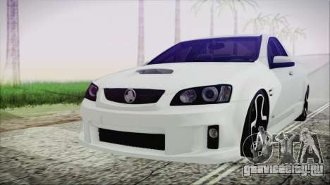 Holden Commodore SS Ute 2012 для GTA San Andreas