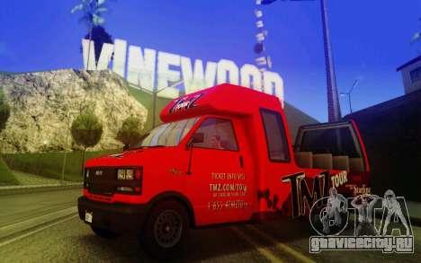 TMZ Tourbus для GTA San Andreas