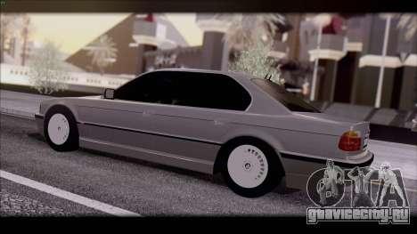 BMW 7-er E38 для GTA San Andreas вид слева