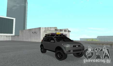 Toyota Terios 2009 OFF-ROAD MUD-TERRAIN для GTA San Andreas вид слева