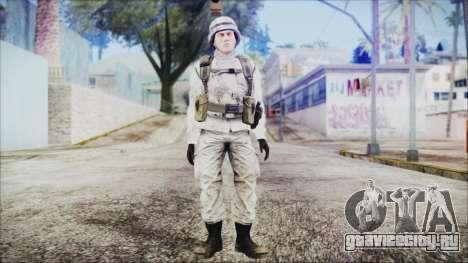 World In Conflict US Marine Winter для GTA San Andreas второй скриншот
