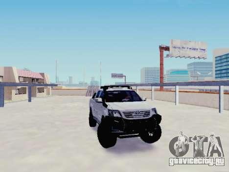 Toyota Hilux Rustica v2 2015 для GTA San Andreas
