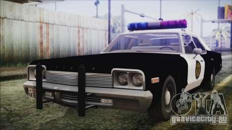 Dodge Monaco 1974 LVPD для GTA San Andreas