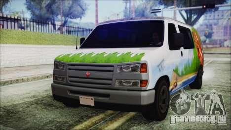 GTA 5 Bravado Paradise Lumberjack Artwork для GTA San Andreas