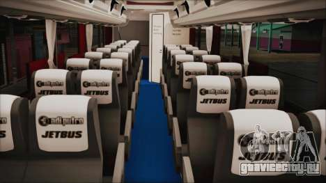 JetBus Marissa Holiday для GTA San Andreas вид справа